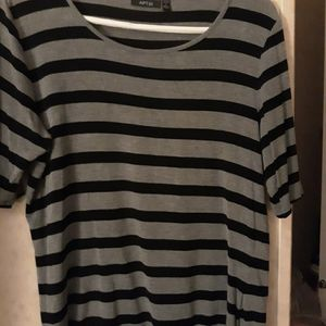 Perfect Condition Gently Used Apt 9 Striped Tee